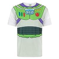 Disney Pixar Mens Toy Story Buzz Lightyear T-Shirt