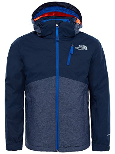 North Face und snowquest Plus Jacket – Jacke, Kind, blau (Cosmic Blue)