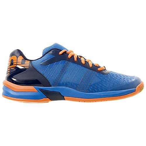 Kempa Attack Three Contender, Zapatillas de Balonmano Para Hombre, Azul (Azul Energy/Azul Marino/N 000), 45 EU Kempa