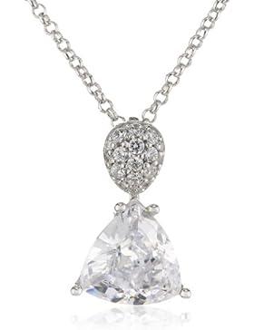 Joop Damen Halskette 925 Sterling Silber Zirkonia Aurora 42.0 cm weiß JPNL90642B420