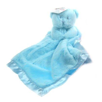Soft Touch - Netter Bär Sicherheitsdecke Blau