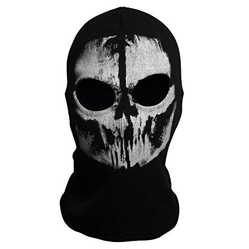 Codxer® Neue Geister Sturmhauben Motorrad Radfahren Cosply Kostüm Schädel Skelett Maske - 12 (Mädchen Kostüm Maske Ski)
