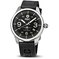 RSC1305, P-51 Mustang, RSC Pilot's Watches, Vintage, Citizen Mov., Aviation, Air Force