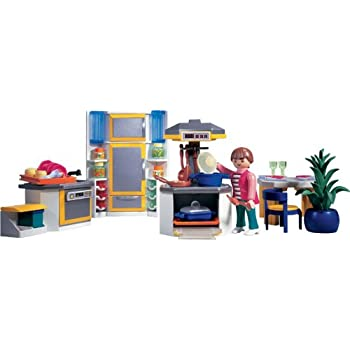 Playmobil 3968 la maison moderne cuisine moderne - Playmobil cuisine 5329 ...
