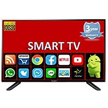 "Sceptre Full HD 1080p Smart Android LED TV, Inbuilt RAM And Storage Memory (32"" Full HD)"