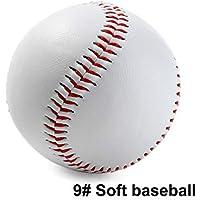 Romsion - Pelotas de béisbol de Alta Resistencia Hechas a Mano para Entrenamiento de béisbol, Color Soft, tamaño as Shown