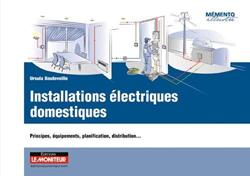 Installations électriques domestiques: Principes, équipements, planification, distribution