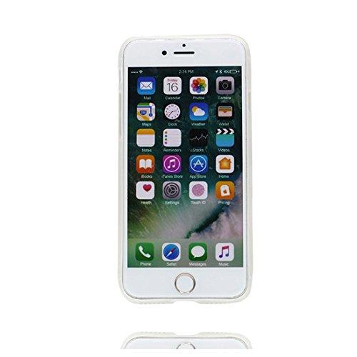 Custodia iPhone 6S, Silicone trasparente Cartoon Stile del modello Case Con materiale di alta qualità & morbido & & Ultra sottile iPhone 6 / 6s copertura 4.7 Graffi Prova / Banana Ananas