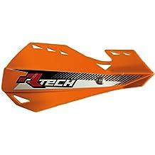 Paramanos R-Tech Dual Evo naranja con kit de montaje