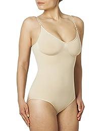 Sleex Figurformender Damen Body (feine, verstellbare Traeger)