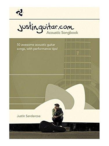 The Justinguitar.com Acoustic Songbook: Songbook für Gitarre