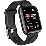 SHOPTOSHOP Smart Band ID166 Fitness Tracker Watch Heart Rate with Activity Tracker Waterproof Body Functions Like Steps Count