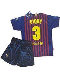 T-shirt and pants set 1st kit FC. Barcelona 2018-2019 - Replica 27df4b5e2fc