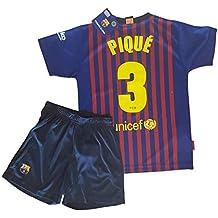 Conjunto Camiseta y Pantalon 1ª Equipación 2018-2019 FC. Barcelona -  Réplica Oficial Licenciado 348b7b7fb5ce3