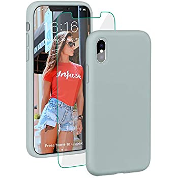 Dtto Case For Iphone Xs Liquid Silicone Case With Amazon