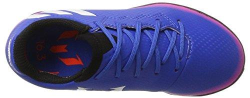 adidas Unisex-Kinder Messi 16.3 Tf J Fußballschuhe Blau (Blue/Footwear White/Solar Orange)