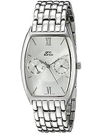 gino franco Men's 920WT Stainless Steel Multi-Function Bracelet Watch