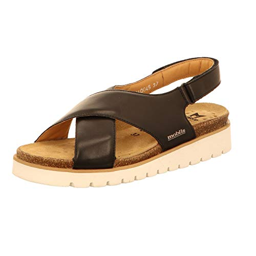 e4232c6a766c49 Mephisto Mobils by Tally Sandales Classic Femmes avec Bouchon extractible  Semelle Cigale 6200 Black Size: