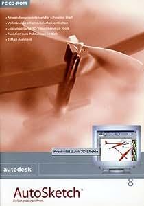 UP AutoSketch 8.0 v. allen V. dt.CD Upgrade auf 8.0 WNT98/2000/XP/ME