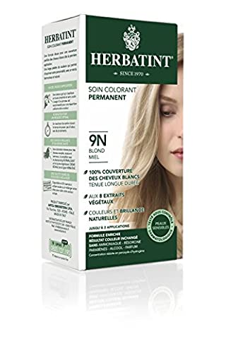 Herbatint Dauerhafte Kräuter Haarfarbe Gel Honig Blond