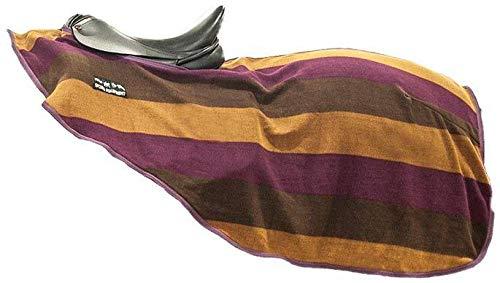 HKM 567538 Nieren Abschwitzdecke Colour stripes mit Klett, L