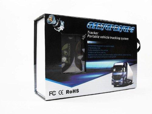 GPS TRACKER TK-104 Localizzatore Satellitare ALLARME ANTIFURTO AUTO MONITORAGGIO IN TEMPO REALE per Auto, Moto, Imbarcazio