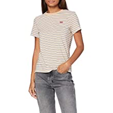 Levi's Women's Perfect Tee T-Shirt, Moonstone Toasted Almond, M
