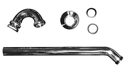 Duravit Bidet Röhrensiphon 1 1/4 Zoll mit verlängertem Ablaufrohr, chrom 50270000, 50270000