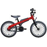 Axdwfd Bici per Bambini Bici for Bambini e Ragazzi, Bici da Allenamento in Lega d'alluminio da 16 Pollici, Bici da Bambino di 5-8 Anni (Color : Red)