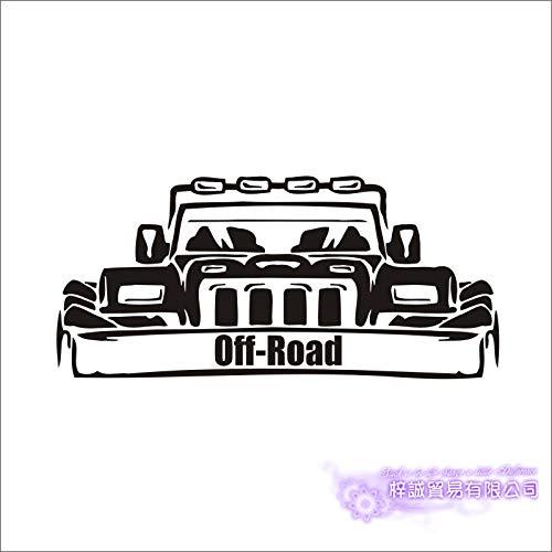 Auto Aufkleber Off Road 4x4 SUV Fahrzeug Aufkleber Klassische Autos Poster Vinyl Wandtattoos Pegatina Parede Decor Wandbild Auto Aufkleber-100x46 cm