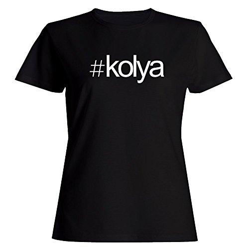 Idakoos Hashtag Kolya - Male Names - Women T-Shirt