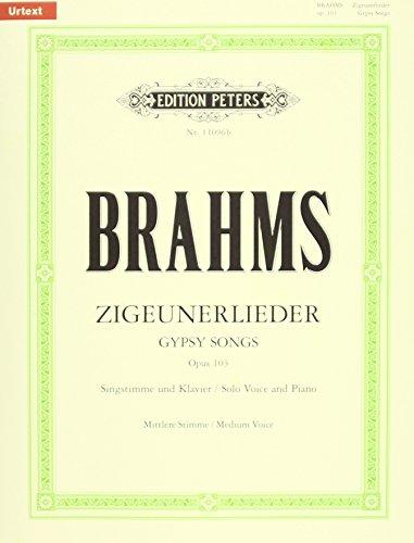 Zigeunerlieder Op.103 Mezzo Chant