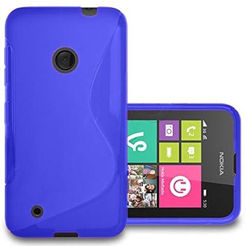 Nokia Lumia 530Case HCN Phone® Flexible S-Line TPU Silicone Gel Case Cover For Nokia Lumia 530
