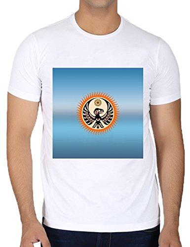 camiseta-blanca-con-cuello-redondo-para-los-hombres-tamao-m-escudo-nativo-americano-by-hera56