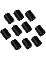 Gazechimp Lot de 10Pcs Housse de Protection Pointe de Queue de Billiard Américain en Caoutchouc