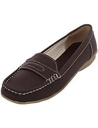 TORRINI Women's Brown Synthetic Loafers - 8 UK