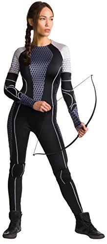 Rubies Offizielles Katniss The Hunger Games Kostüm für Erwachsene -Größe: - The Hunger Games Halloween Kostüm