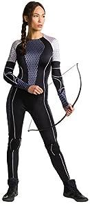 Rubies Disfraz Katniss, de la película Los Juegos del Hambre,, Talla Grande, Pecho 102 a 107 cm, 89 a 97 cm, Entrepierna 76 cm
