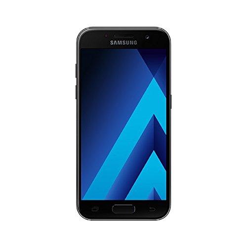 Samsung galaxy a3 2017 smartphone, nero, 16gb espandibili, [versione italiana]