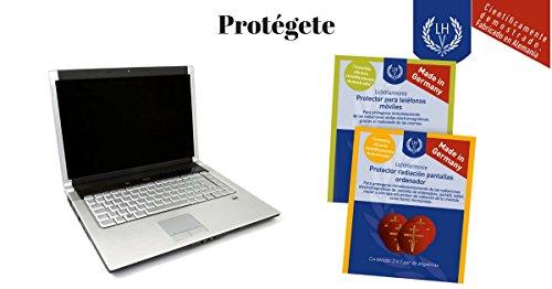 Protector radiación electromagnética para aparatos electrónicos, MADE IN GERMANY, Protección de radiación electromagnética para portátiles, pantallas de ordenadores, televisión, teléfonos inalámbricos, fax, microondas,...