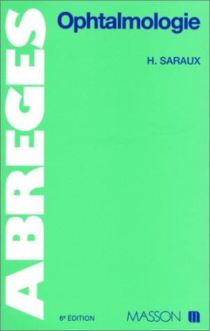 OPHTALMOLOGIE. 6ème édition 1995