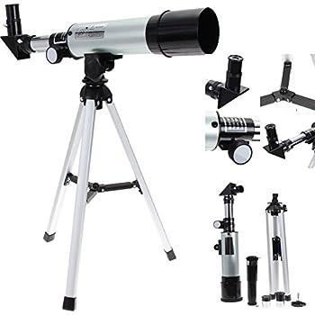 Hihey Astronomisches Teleskop f/ür Kinder 20 x 30 x 40 x Refraktor Astronomisches Teleskop f/ür Kinder Studenten und Anf/änger Kombi mit Stativ