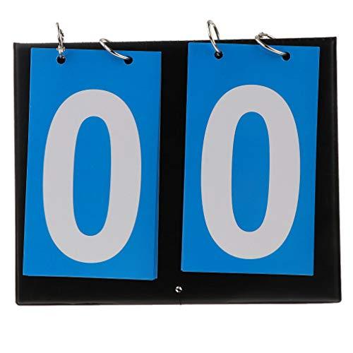 IPOTCH Marcador Fútbol 2 Dígitos Multifuncional
