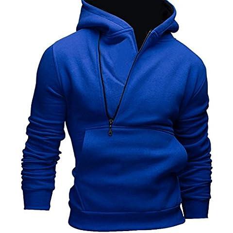 Chaqueta GillBerry Hombres calentar sudadera con capucha los ropa exterior de abrigo