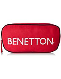 United Colors of Benetton Fabric 32 cms Red Gym Shoulder Bag (18A6MBAG6686I)