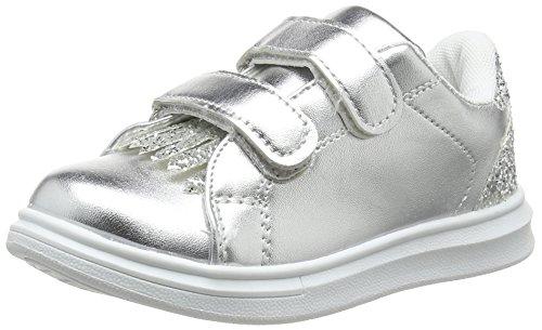 Spot on Mädchen H2418 Sneaker Silberfarben