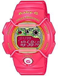 CASIO Baby-G BG-1005M-4ER - Reloj de mujer de cuarzo, correa de resina color rosa