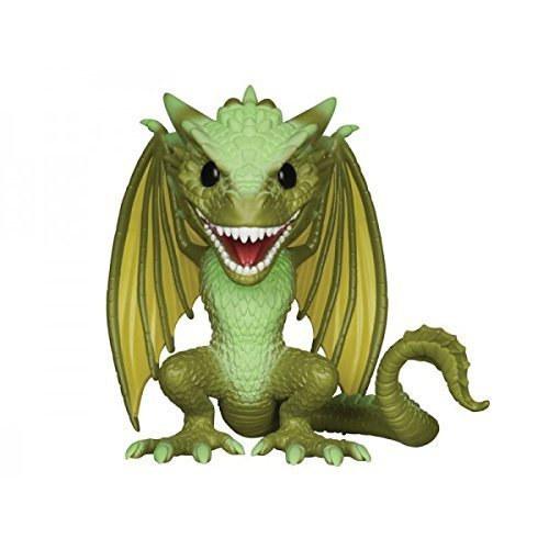 FunKo POP Game of Thrones: Rhaegal 6' Toy Figure by Pro-Motion Distributing - Direct