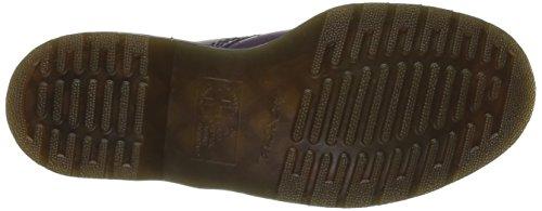 Dr. Martens 1460, Chaussures Bateau Mixte Adulte Noir(Violet Purple Smooth)
