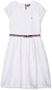Tommy Hilfiger Ame Charming Shiffley Dress S/S Vestido para Niñas